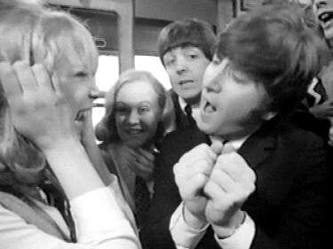 While Filming The Movie George Was Strongly Attracted To Her Actually It Looked Like All Beatles Were Patti VERY Cute And